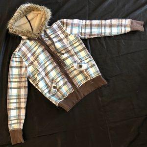 NWOT plaid jacket